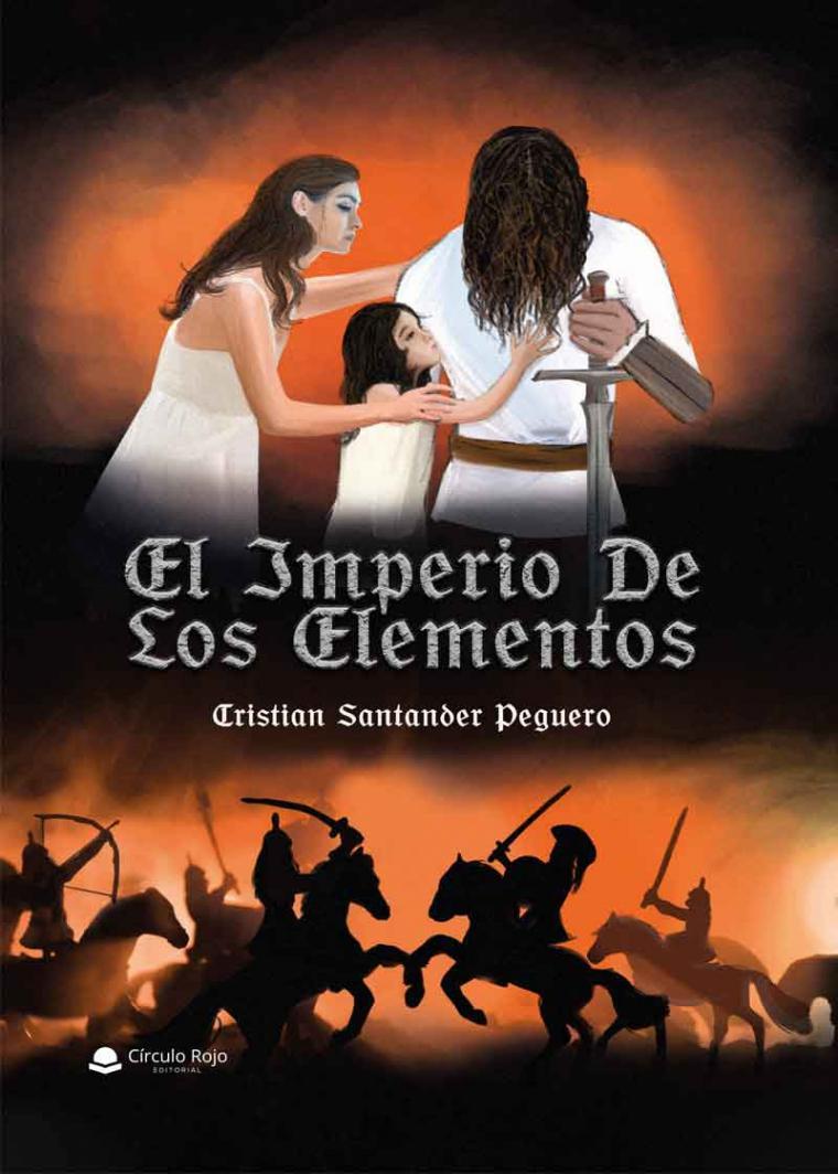 'El imperio de los elementos' de Cristian Santander, una novela para amantes de la fantasía y la épica, en una trama llena de emociones