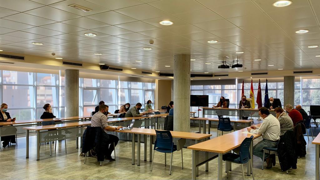 El Alcalde de Lorca preside la Mesa Local de Empleo, marcada por la incidencia de la pandemia en el mercado laboral del municipio