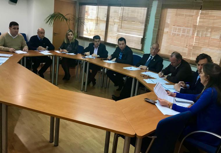 La Mesa del Agua de Almería expone al Partido Popular las consecuencias del cierre del trasvase Tajo-Segura para la provincia