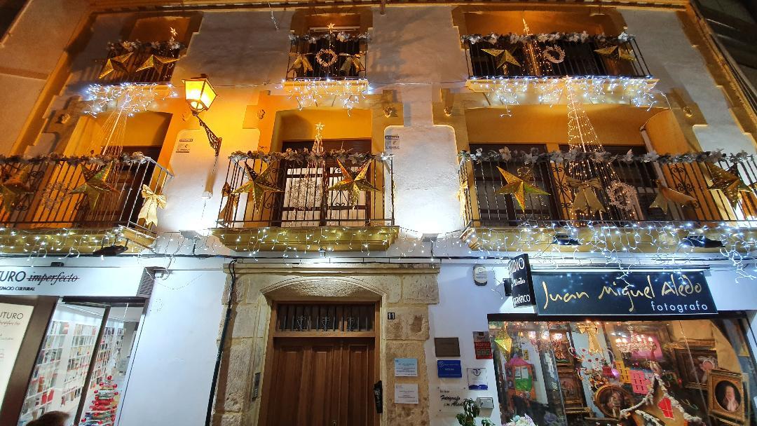 El Ayuntamiento de Lorca entrega los premios del I Concurso Navideño para decorar balcones y ventanas 2020