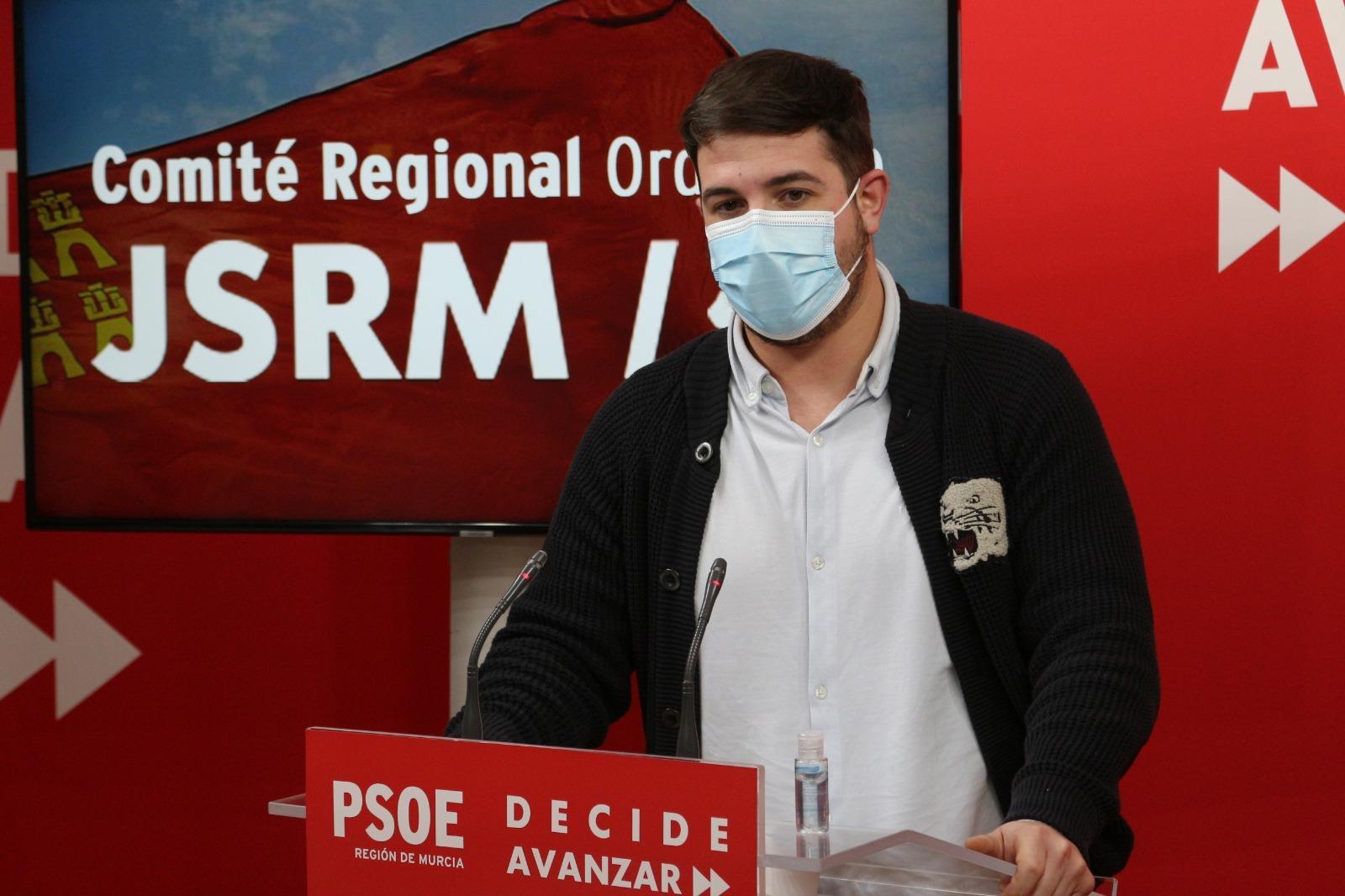 Juventudes Socialistas de Murcia piden a la Consejería de Salud un informe avalando la presencialidad de los exámenes en la Universidad de Murcia