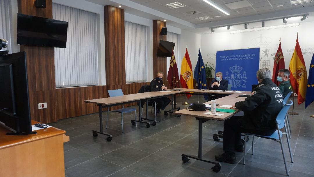 Guardia Civil y Policía Nacional realizan más de 1.600 identificaciones e imponen 225 sanciones por infracciones del cierre perimetral de la Región y veintidós de sus municipios