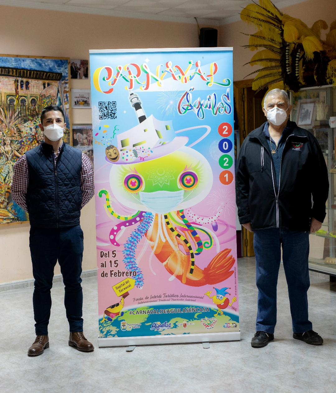 Ayuntamiento y Federación de Peñas presentan un programa de actos para vivir desde casa el Carnaval de Águilas 2021
