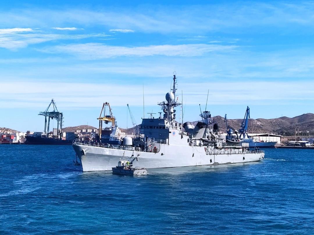 """El Patrullero de altura """"Infanta Cristina"""" inicia una misión vigilancia marítima en el Sur peninsular"""