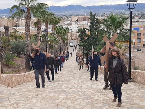 El PP tratará de recabar el apoyo del Pleno del Ayuntamiento para habilitar la ruta de senderismo que conecta la ermita y el castillo de Felí