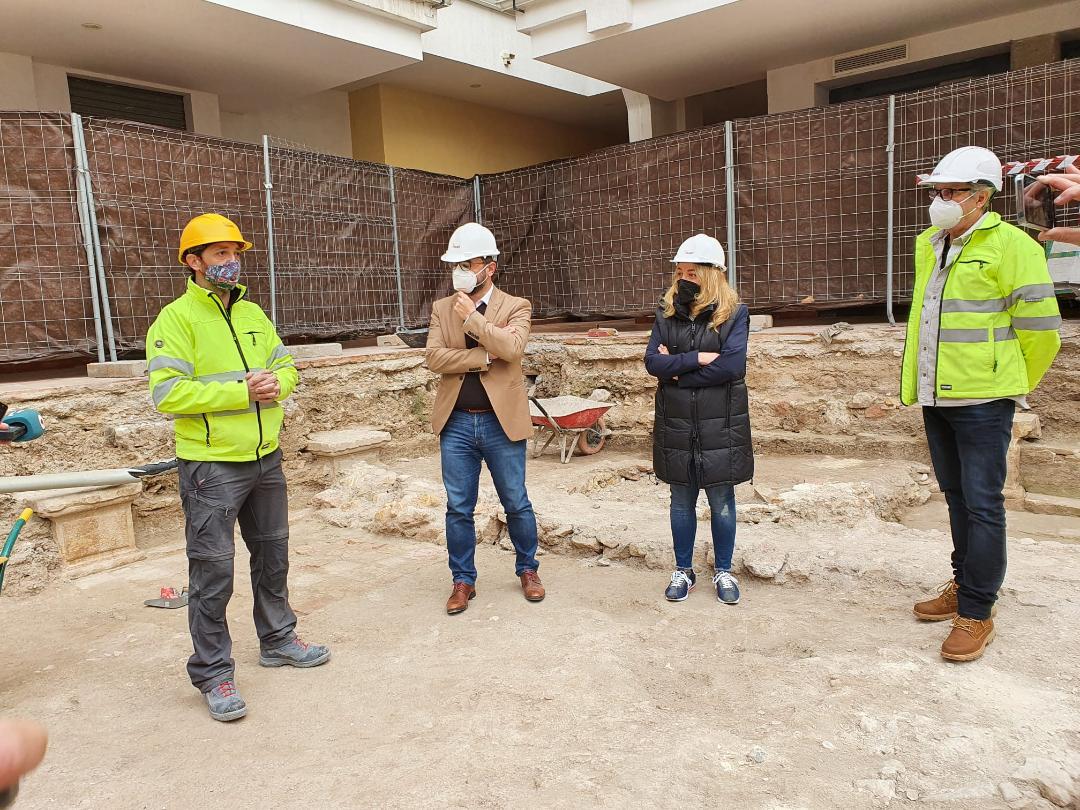 El Ayuntamiento de Lorca inicia la excavación del Claustro de Santo Domingo para la puesta en valor de los hallazgos arqueológicos encontrados en la zona