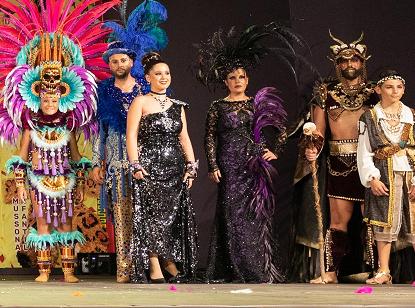 Las ganas de Carnaval en Águilas se hacen notar en la Gala de Presentación de Personajes