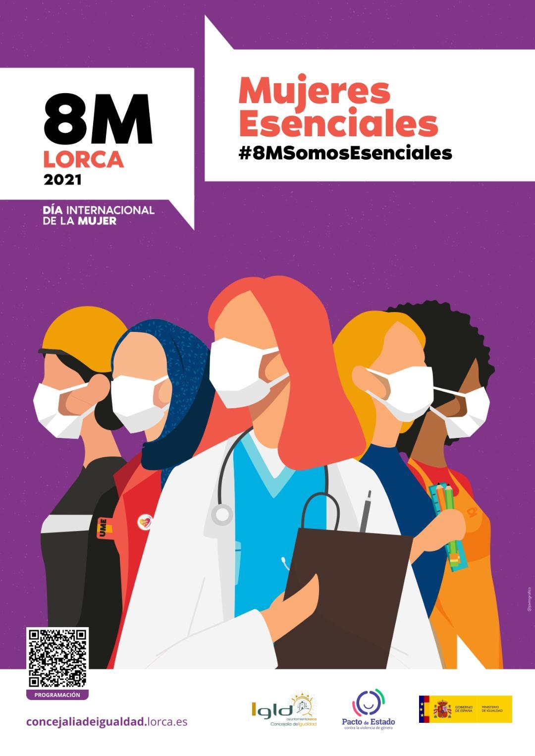 El Ayuntamiento de Lorca organiza a través de la Concejalía de Igualdad y en colaboración con diferentes colectivos una treintena de actividades por el Día Internacional de la Mujer