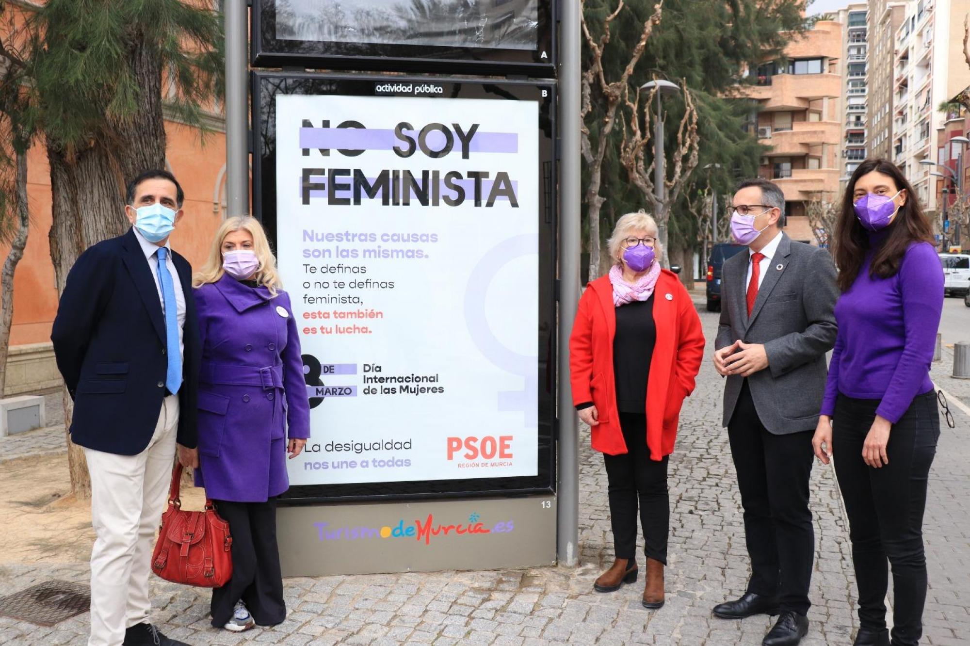 """Diego Conesa: """"El 8 de marzo es un día de reconocimiento y reivindicación de la igualdad efectiva entre mujeres y hombres"""""""