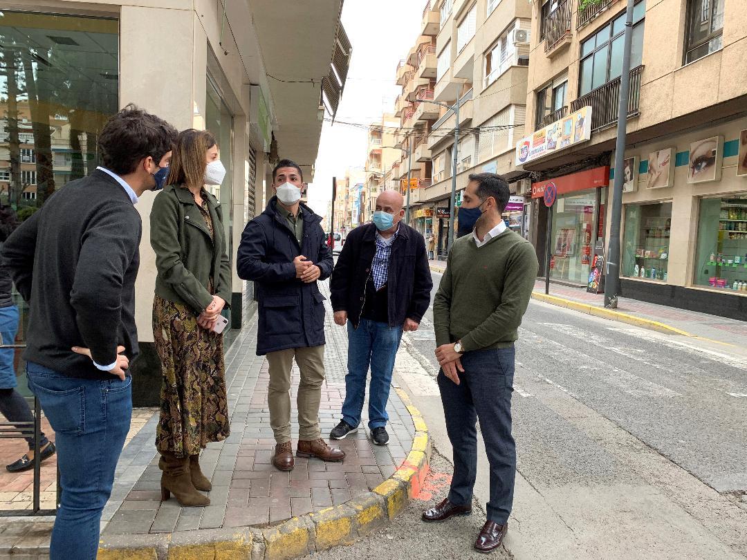"""Comienzan las obras en las calles de preferencial peatonal """"Conde de Aranda"""" y """"Juan Pablo I"""""""