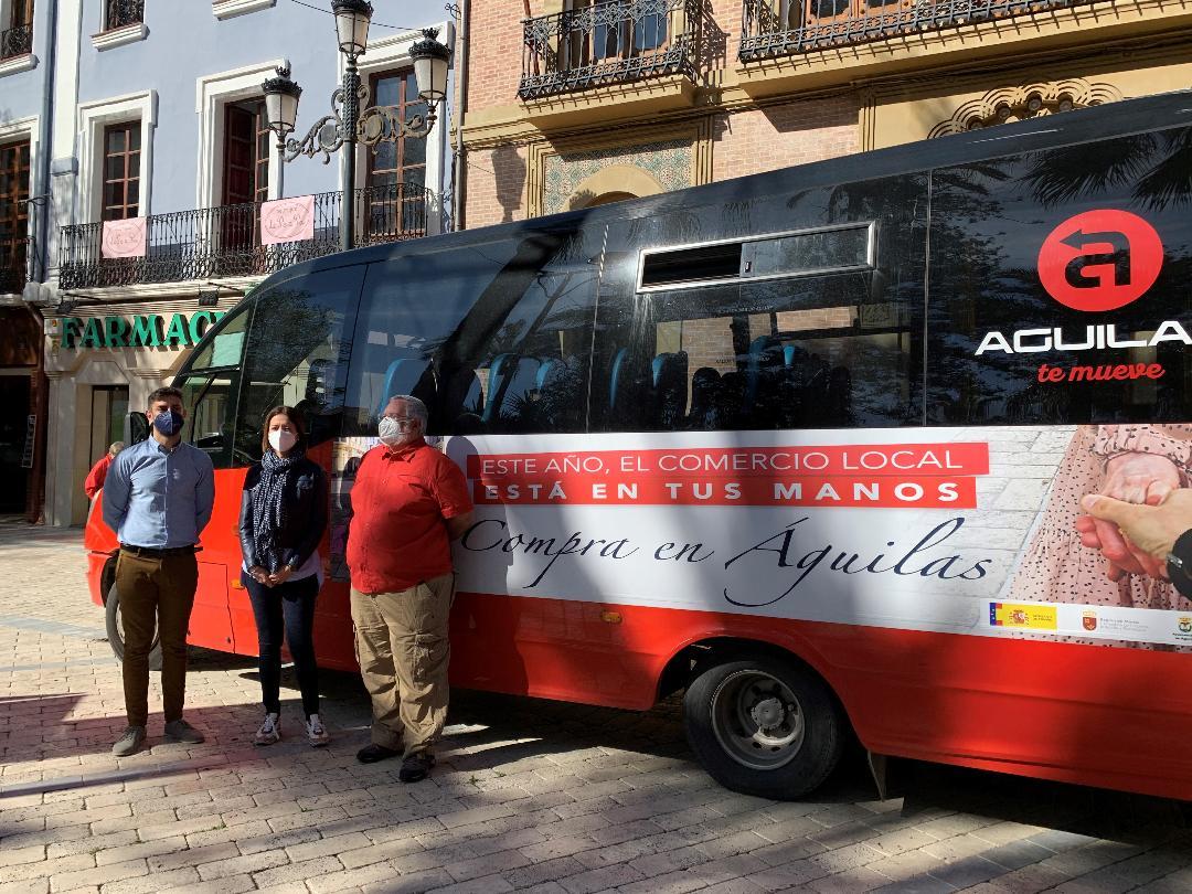 """La Concejalía de Comercio anima a realizar la """"Compra en Águilas'"""