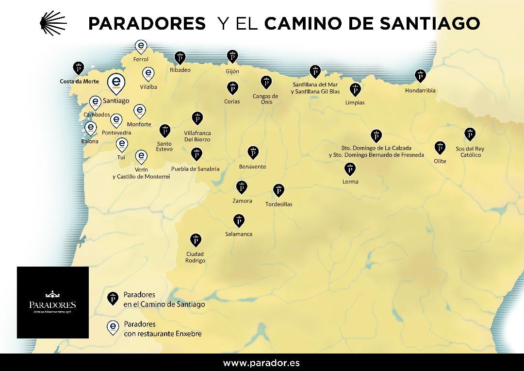 PARADORES LANZA UNA TARIFA ESPECIAL PARA PEREGRINOS DEL CAMINO DE SANTIAGO