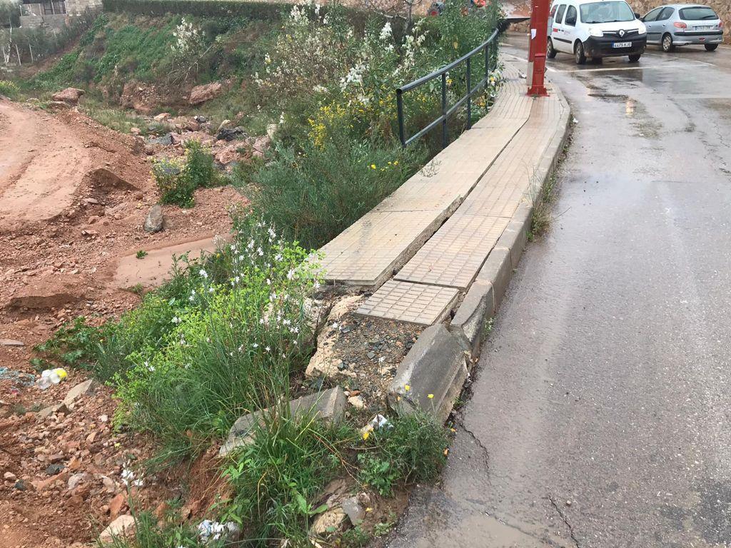El Ayuntamiento de Lorca llevará a cabo mejoras en zonas de las pedanías de Pozo Higuera y Almendricos que se ven afectadas cada vez que se producen lluvias torrenciales