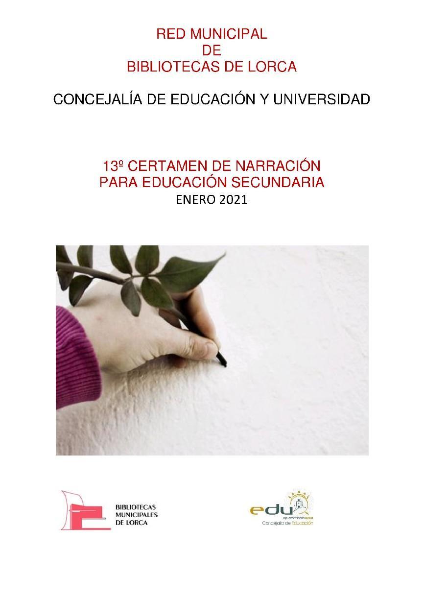 La 13º edición del Certamen de Narración para Educación Secundaria 'Premios Ángeles Pascual', organizado por la Red Municipal de Bibliotecas, ya tiene ganadores