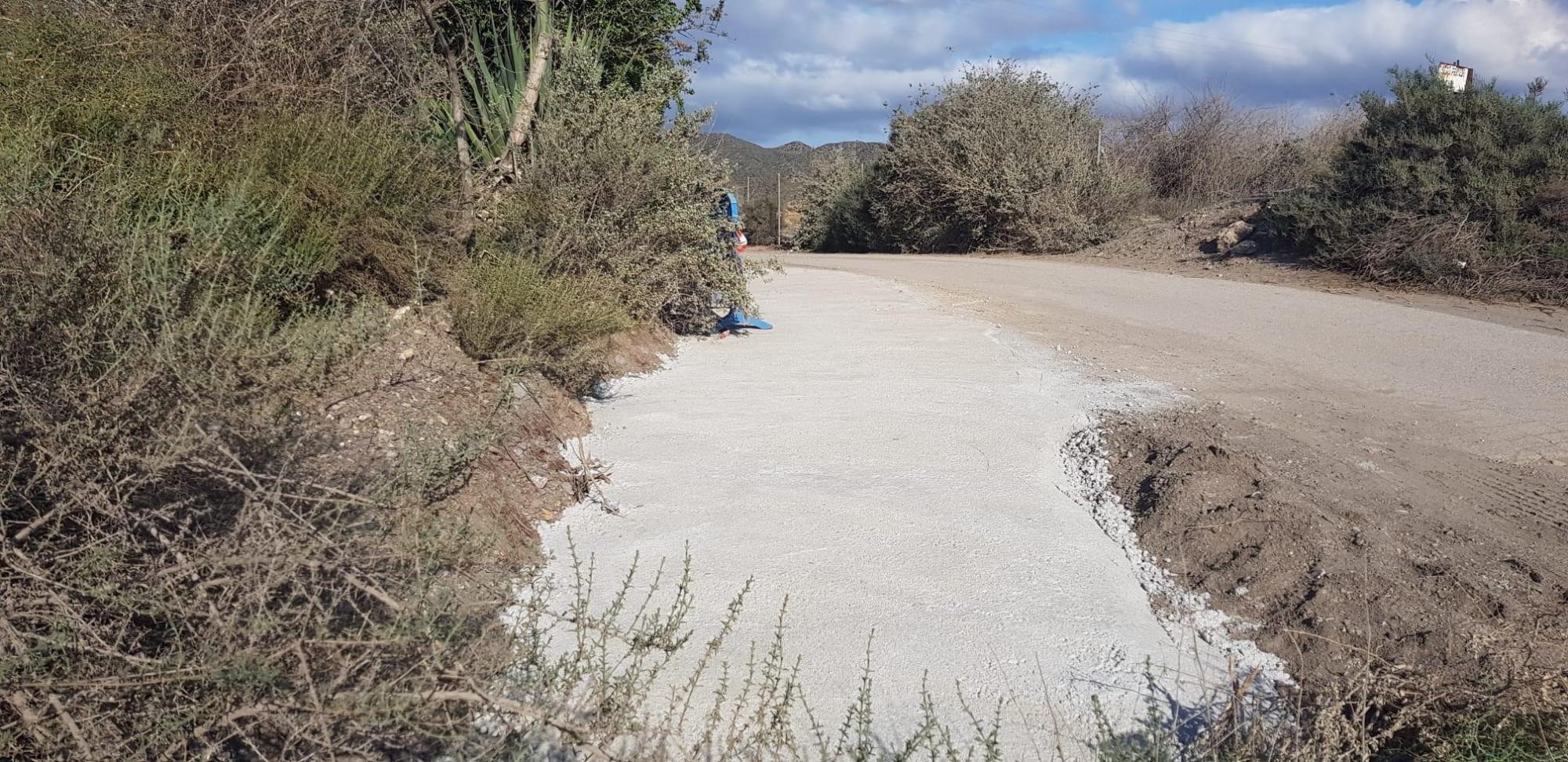Finalizan las obras en el camino Huerto del Abad y en el camino de los Arejos al Cocón