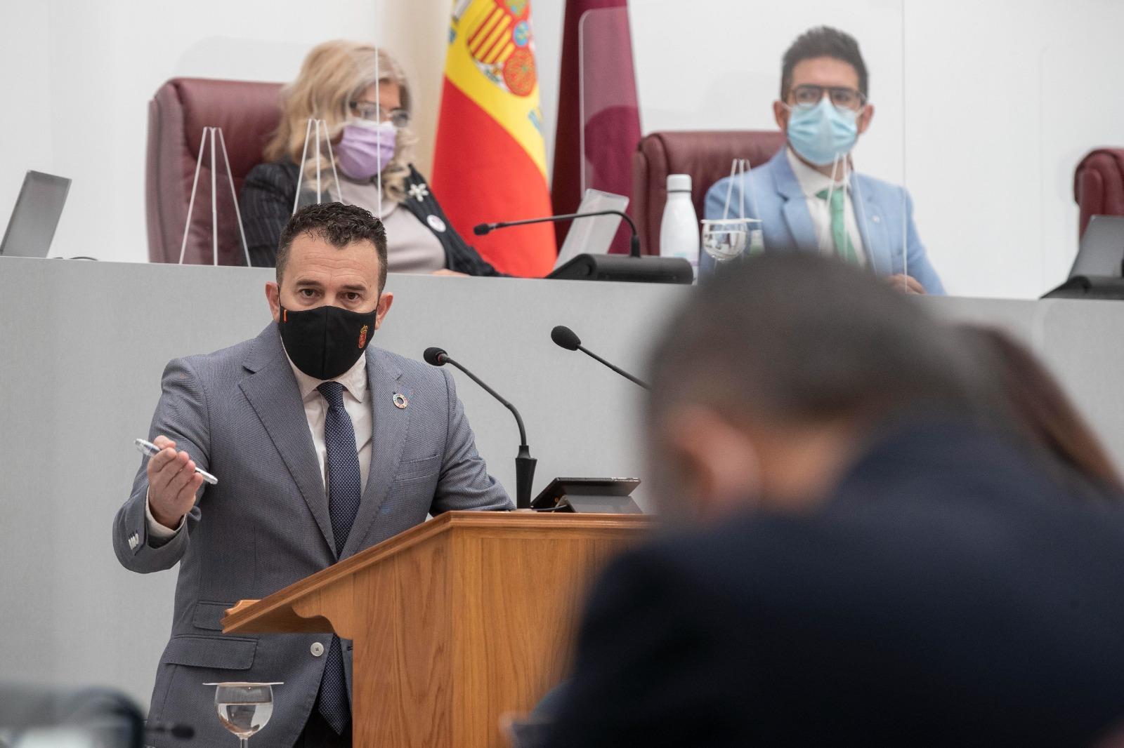 """Fernando Moreno: """"Por el bien de la Región de Murcia, Luengo debería sentarse con el Ministerio a hablar de los intereses de nuestros agricultores y ganaderos"""""""