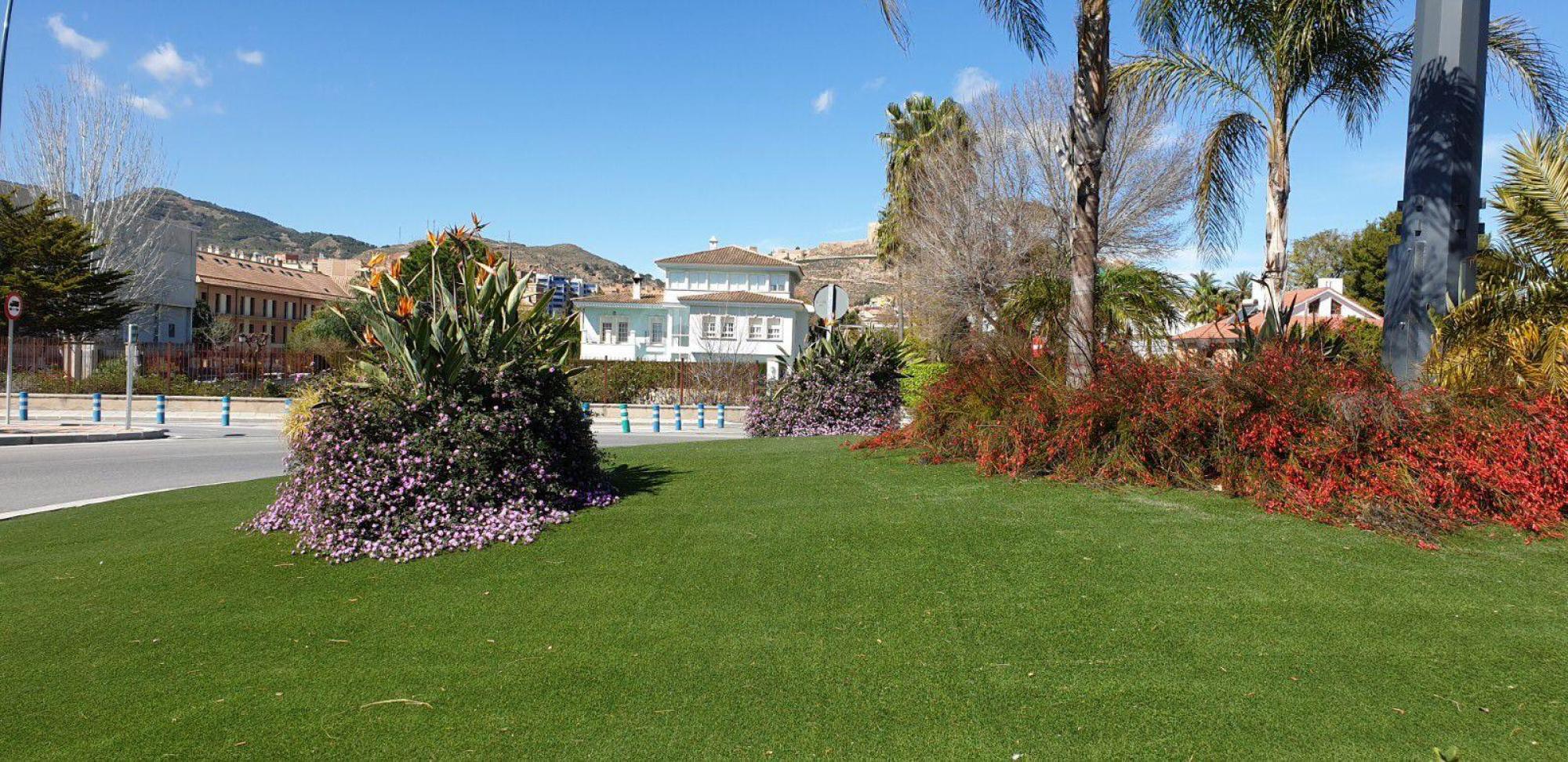 El Ayuntamiento de Lorca lleva a cabo la plantación de más de medio millar de varias especies de árboles en diferentes espacios y zonas verdes del municipio