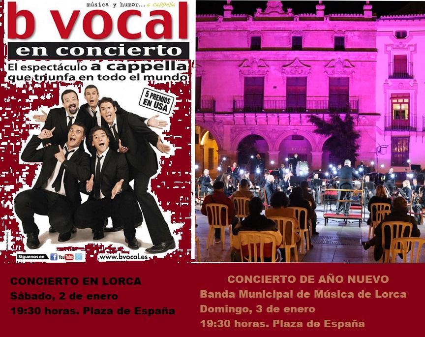 El grupo internacional B Vocal dará la bienvenida al año 2021, este sábado, con un concierto en la Plaza de España