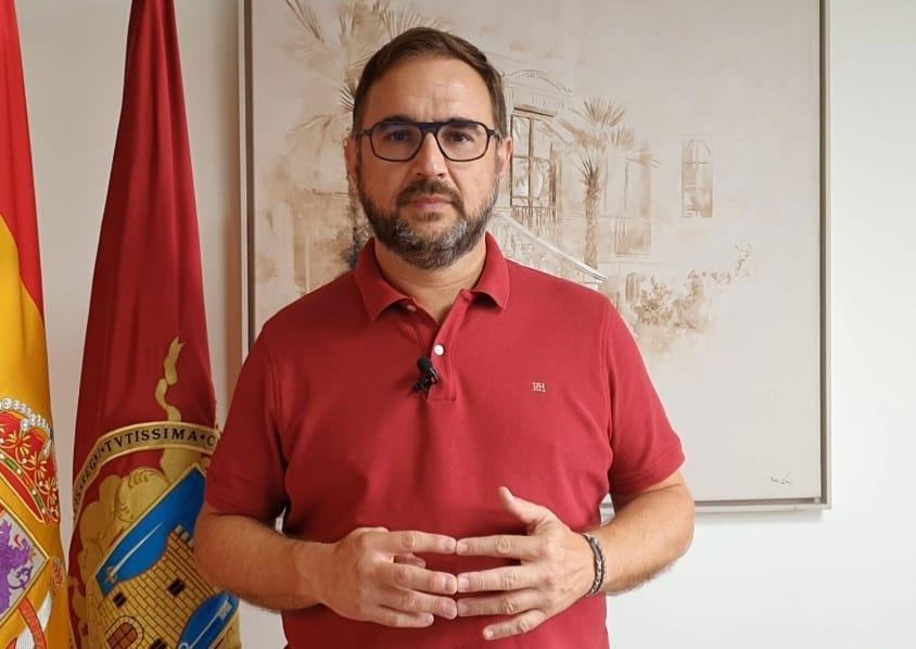 """El Alcalde de Lorca se reúne hoy con la Presidenta de ADIF para reiterar que el corte del servicio de Cercanías """"debe ser el mínimo tiempo posible"""""""