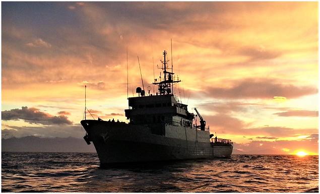 """El Patrullero de altura """"Centinela"""" realiza una operación de seguridad marítima en Septiembre"""