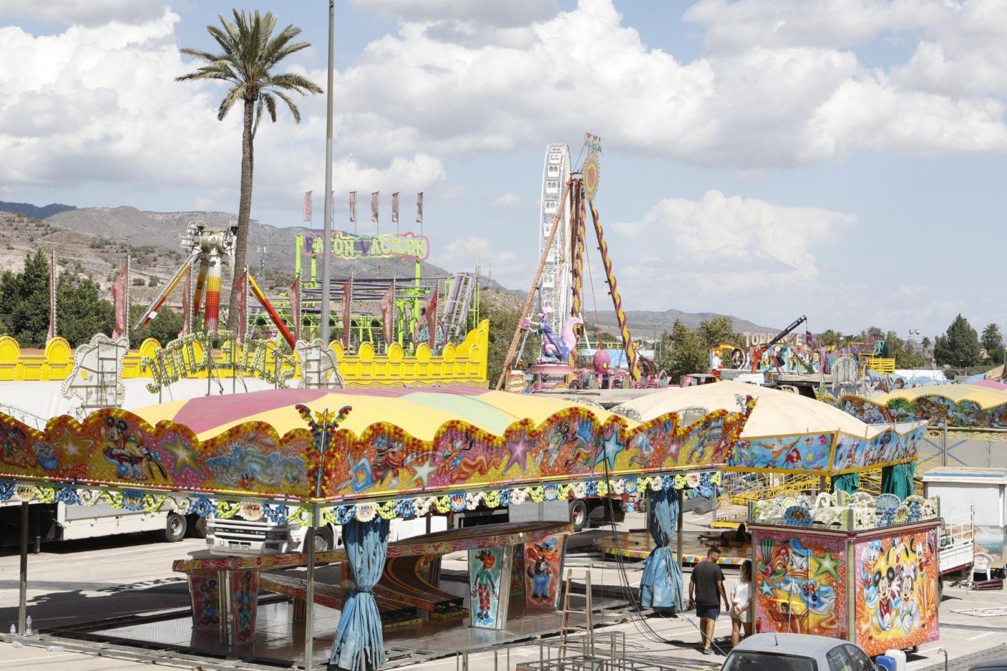 El Ayuntamiento de Lorca vuelve a establecer para esta Feria 2021 el acompañamiento gratuito en las atracciones para los niños con diversidad funcional