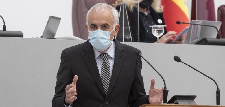 """Martínez Baños: """"El Gobierno regional lleva años ocultándonos la verdad sobre lo que está pasando en el Mar Menor"""""""