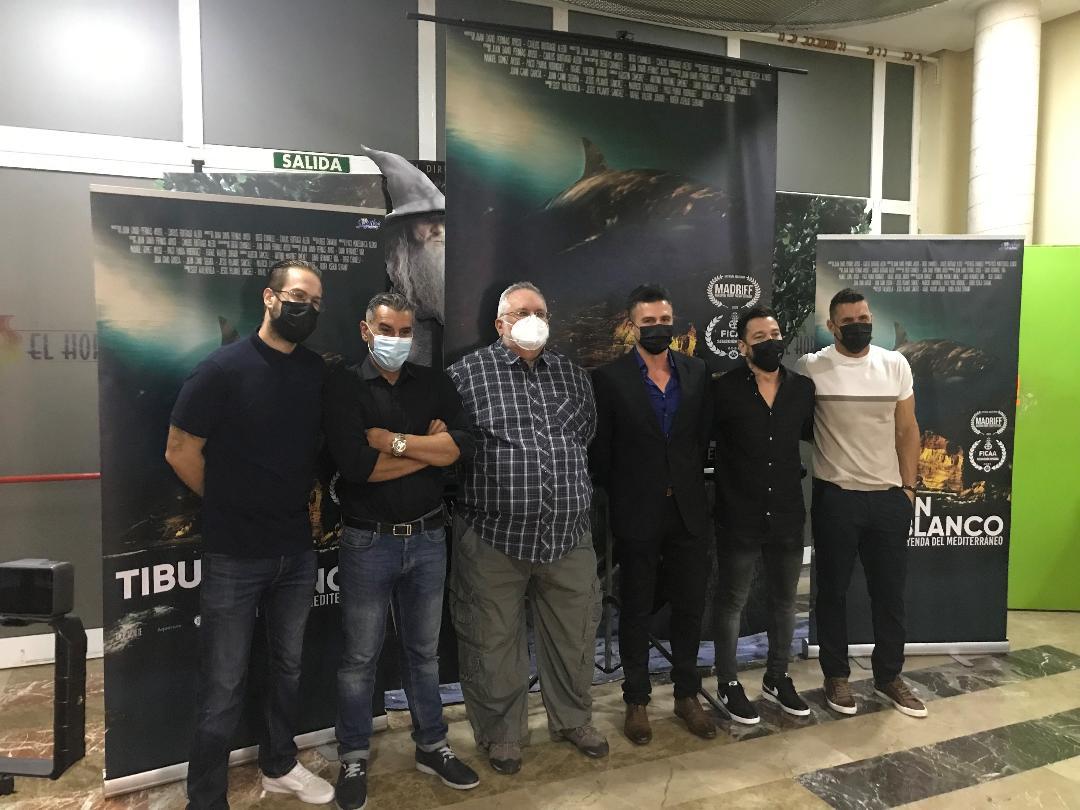 """El documental """"Tiburón Blanco. Leyenda del Mediterráneo"""" se presenta en Águilas"""