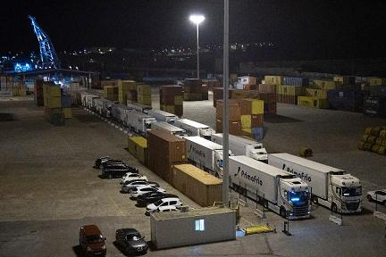 Inaugurada la nueva ruta marítima Cartagena -Toulon con 20 camiones, impulsada por la Autoridad Portuaria destinada a incrementar la competitividad de las empresas exportadoras murcianas