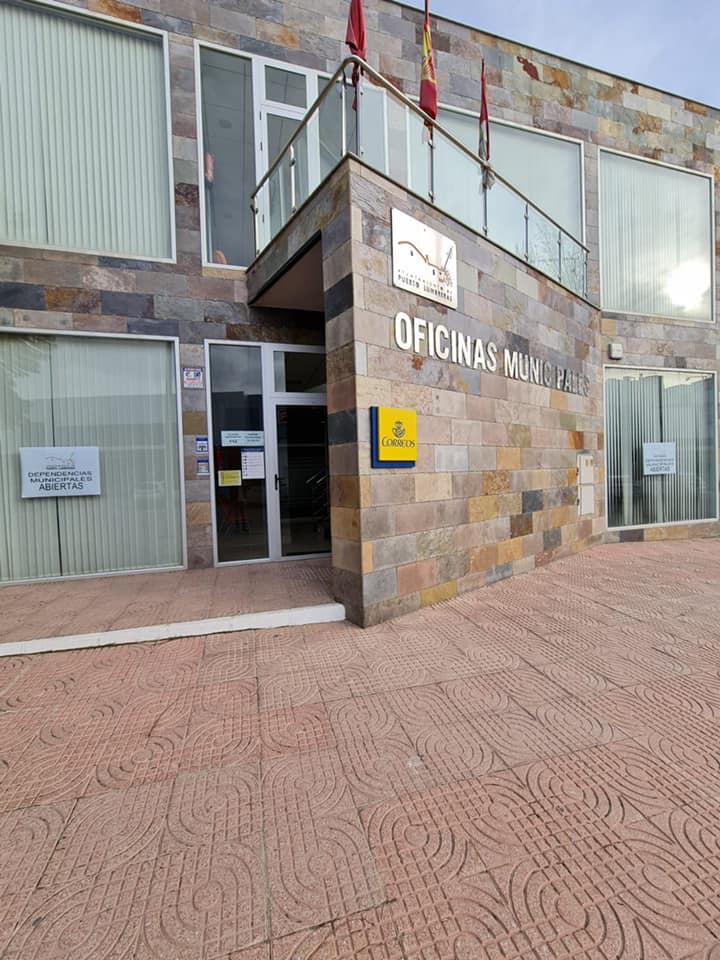 Las dependencias municipales de El Esparragal-La Estación reabren al público tras permanecer cerradas por la COVID-19