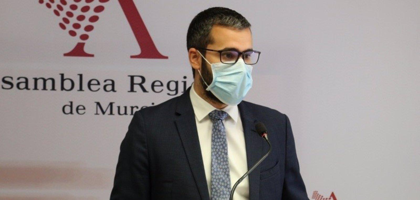 """Francisco Lucas: """"El Gobierno regional de PP y Ciudadanos está inmerso en la inestabilidad y el descontrol"""""""