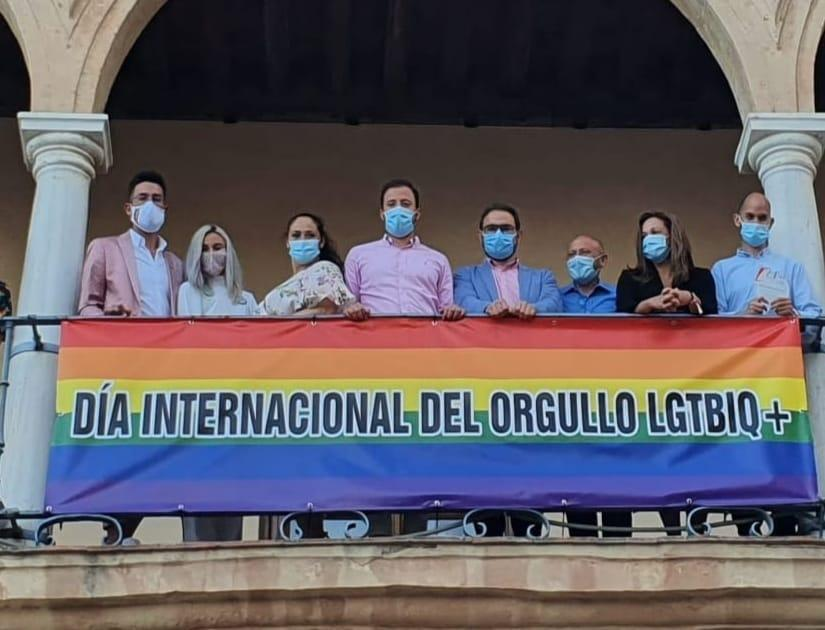 """Lorca contará con una """"Plaza Arco Iris"""" para visibilizar al colectivo LGTBI y luchar contra la LGTBIfobia"""