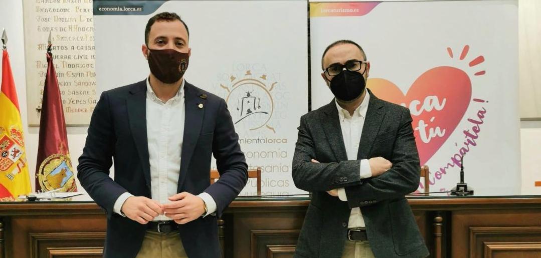 El Ayuntamiento de Lorca establece una nueva línea de ayudas a fondo perdido de hasta 2.000 euros para mitigar los perjuicios económicos de la COVID-19 en el comercio y la hostelería