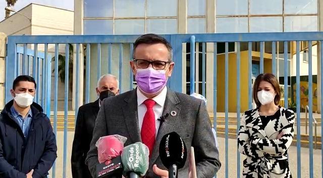"""Diego Conesa: """"López Miras está más centrado en su futuro personal, que en garantizar las infraestructuras sanitarias que necesita la Región"""" y reclama la construcción del Centro de Alta Resolución de Águilas"""