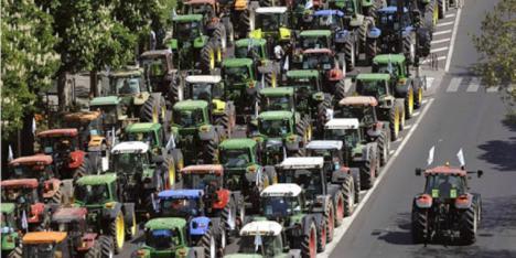 El PSRM muestra su total respaldo al sector agrario en sus reivindicaciones