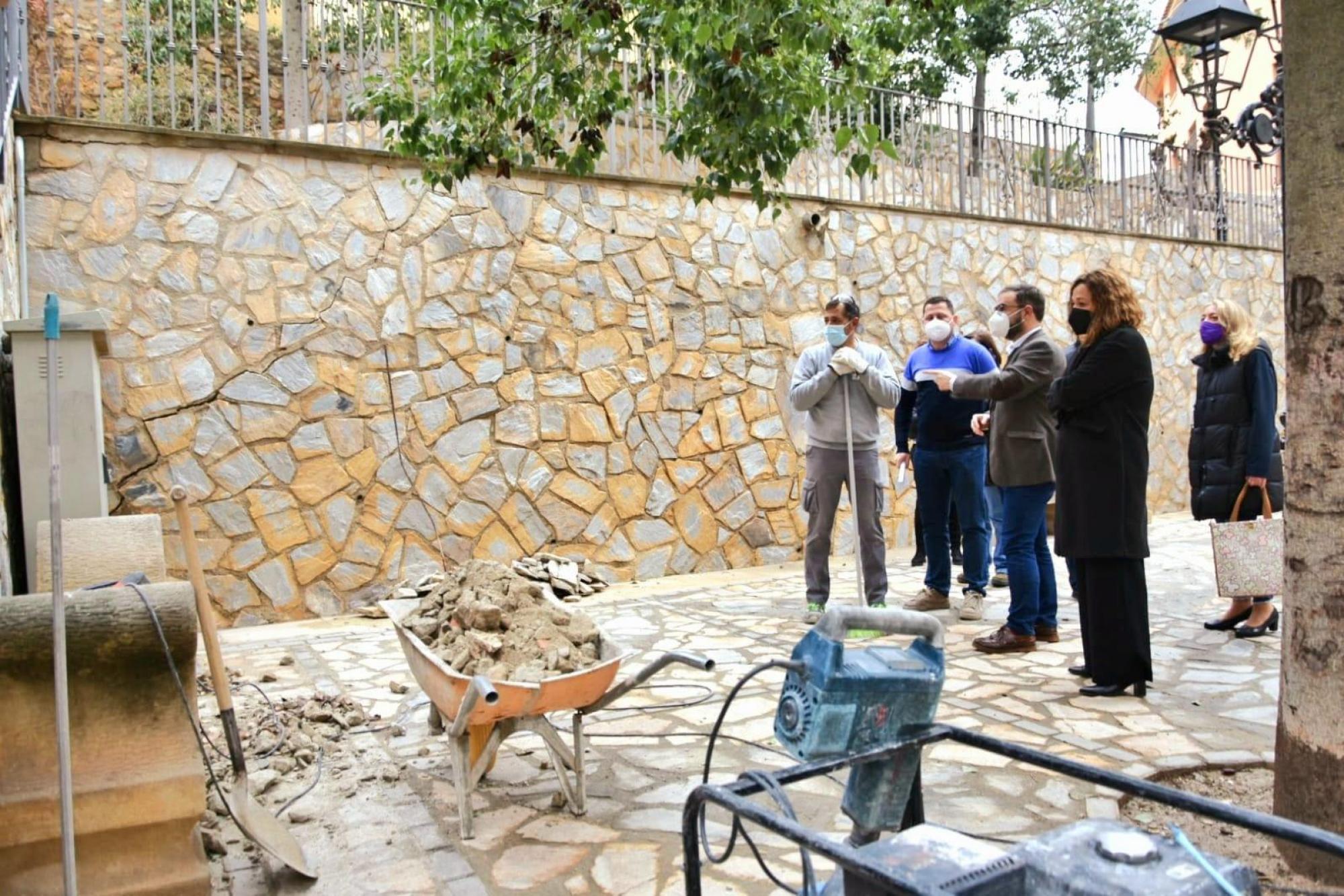 El Ayuntamiento de Lorca inicia recuperará cuatro plazas situadas en el casco histórico y continuar, así, con el proceso de revitalización