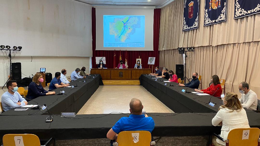 """El Pleno del Ayuntamiento de Puerto Lumbreras aprueba de forma inicial el nuevo Plan General de Ordenación Urbana, que """"supondrá un importante progreso para el municipio"""""""