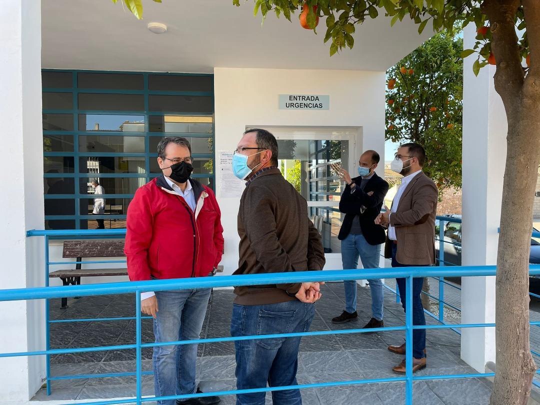 El Ayuntamiento de Lorca invierte 43.717 euros en el acondicionamiento y remodelación del consultorio de Almendricos