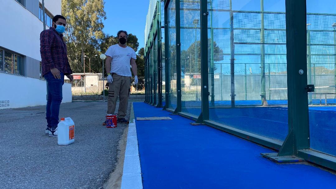 El Ayuntamiento de Puerto Lumbreras pone en marcha un plan de mantenimiento de instalaciones deportivas