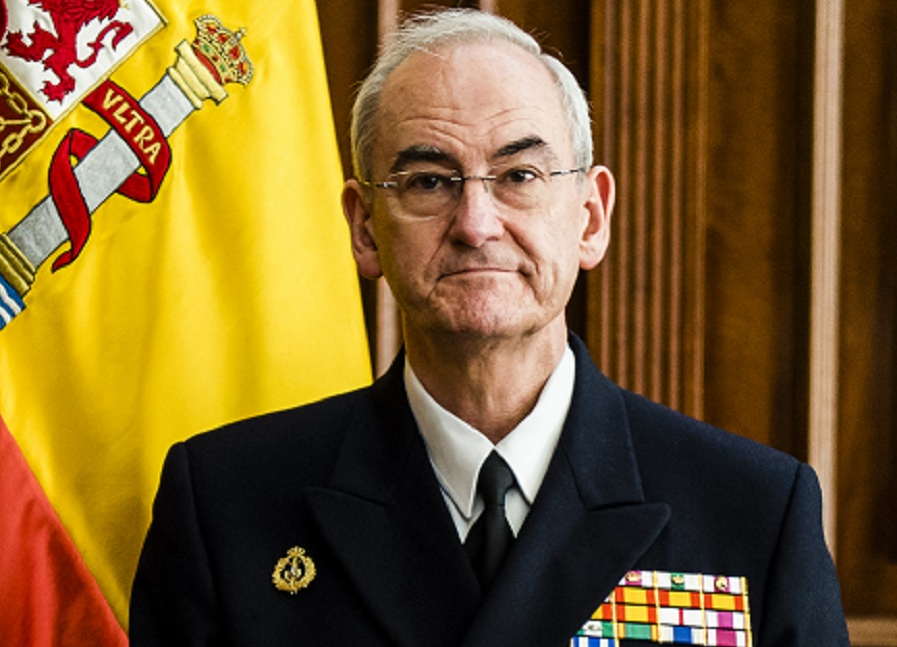 """El Jefe de la Armada, Almirante López Calderón reconoce que los futuros Presupuestos Generales """"no satisfacen sus necesidades"""" a pesar de contemplar un aumento del 4,6% para Defensa respecto a este año"""