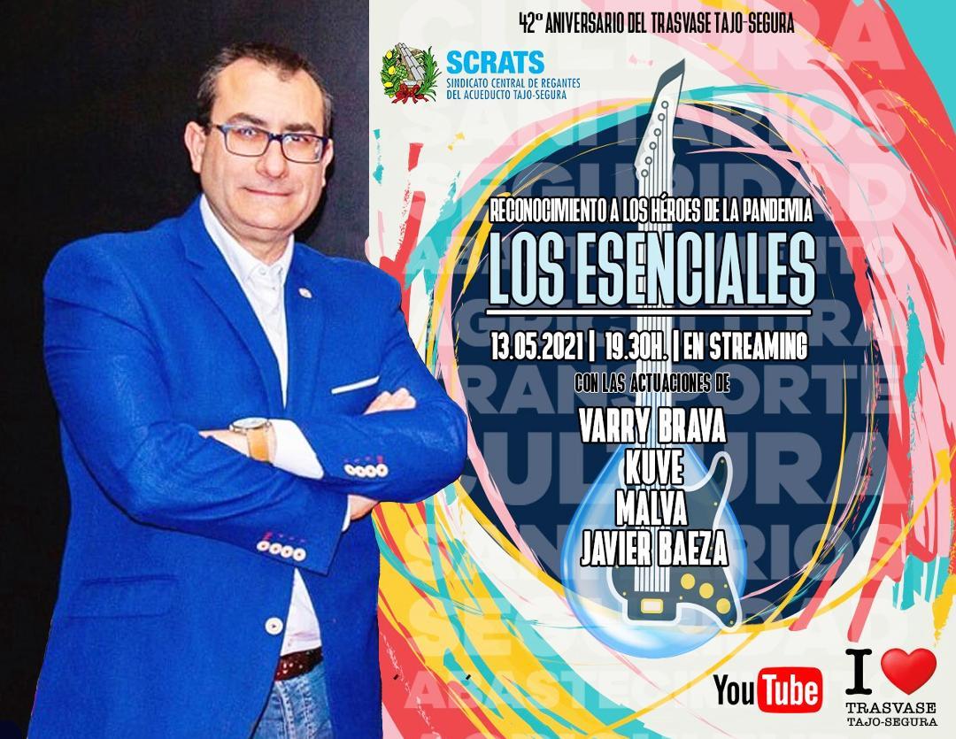 Los regantes reconocen la labor de los Medios de Comunicación durante el COVID. El galardón será recogido por Pepe Cano, Presidente de ARTV-Murcia en una gala que tendrá lugar el próximo 13 de Mayo en Murcia