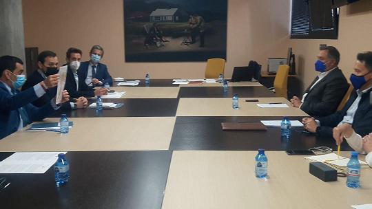Fulgencio Gil supervisa junto al Consejero de Fomento la evolución de los proyectos en marcha y las próximas inversiones que se desarrollarán en Lorca