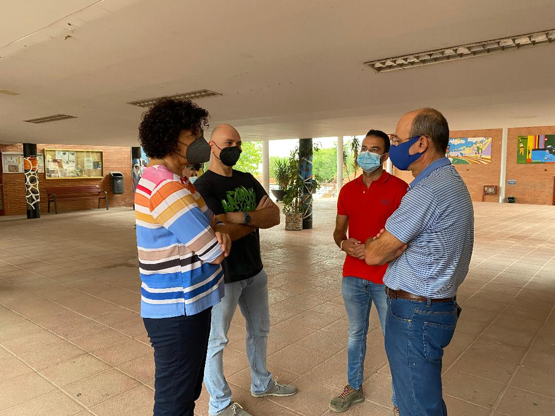 """El IES """"Rambla de Nogalte"""" de Puerto Lumbreras arranca el curso 2020-2021 extendiendo la enseñanza bilingüe a los grados medio y superior de Administración"""