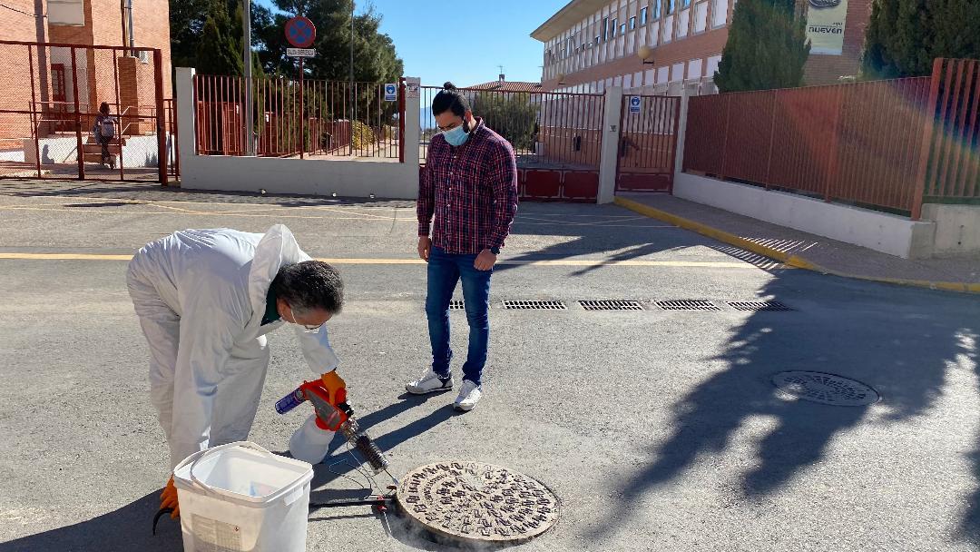 El Ayuntamiento de Puerto Lumbreras inicia una nueva campaña de desratización, desinsectación y desinfección para prevenir plagas en el municipio
