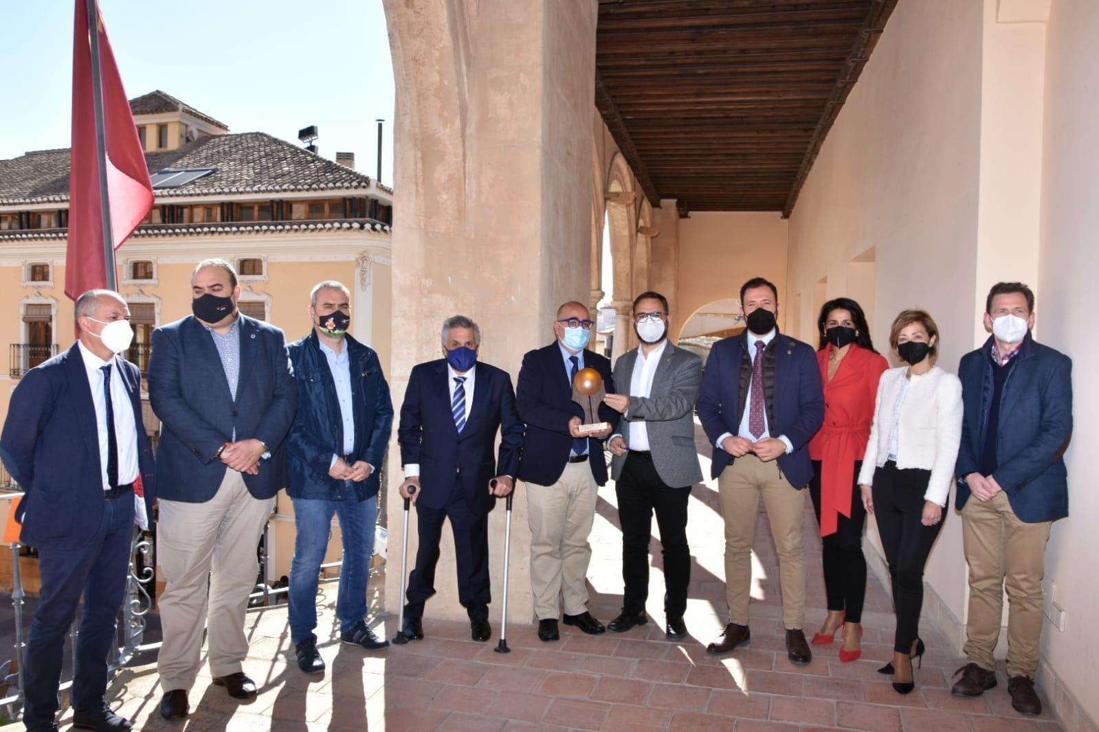 """El Ayuntamiento de Lorca acoge el fallo de la primera edición de los 'Premios Gigantes 2020' otorgados por la Fundación """"Iniciativas El Gigante"""""""