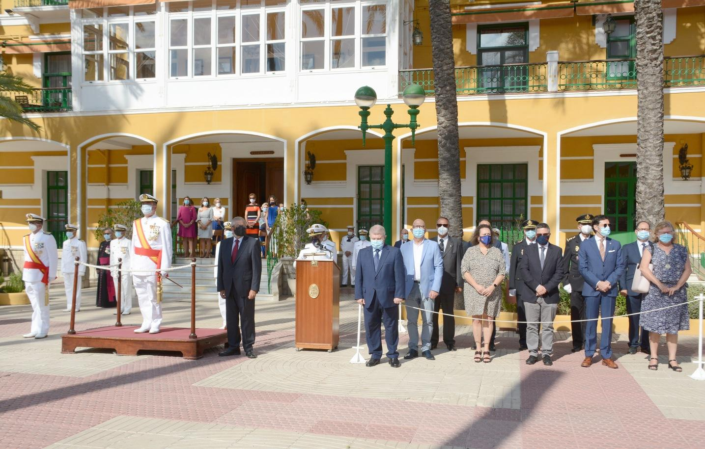 La Armada conmemora la festividad de la Virgen del Carmen en Cartagena