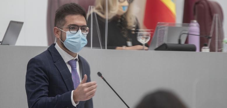 """Espín: """"Permitir que la ultraderecha acceda al Gobierno supone el mayor desprecio hacia la ciudadanía de la Región que se ha visto en décadas"""""""