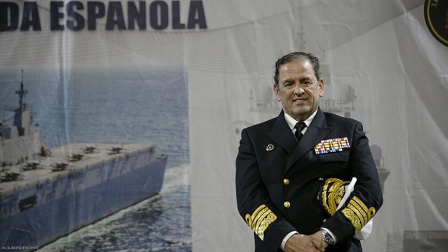 El Almirante de la Flota visita los buques y unidades de la Flota en Cartagena
