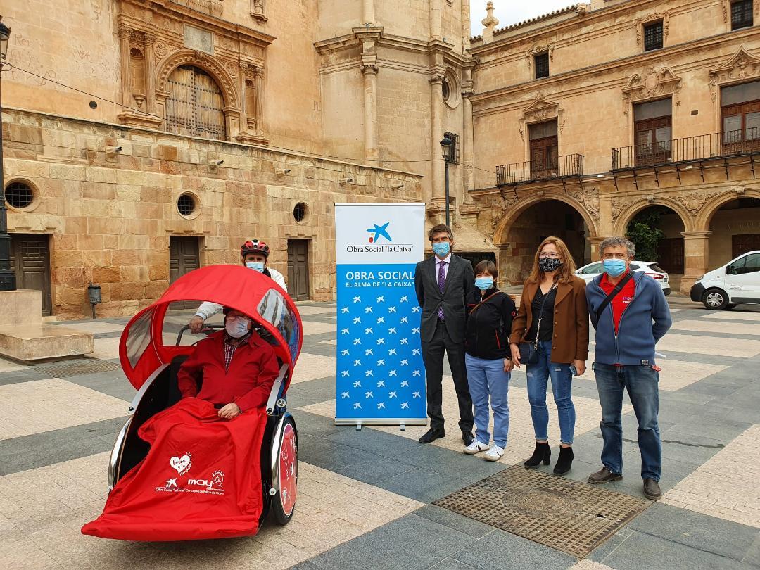 El Ayuntamiento de Lorca pone en marcha la campaña de captación de voluntarios para el proyecto de promoción del envejecimiento activo 'Pedaleo Solidario'