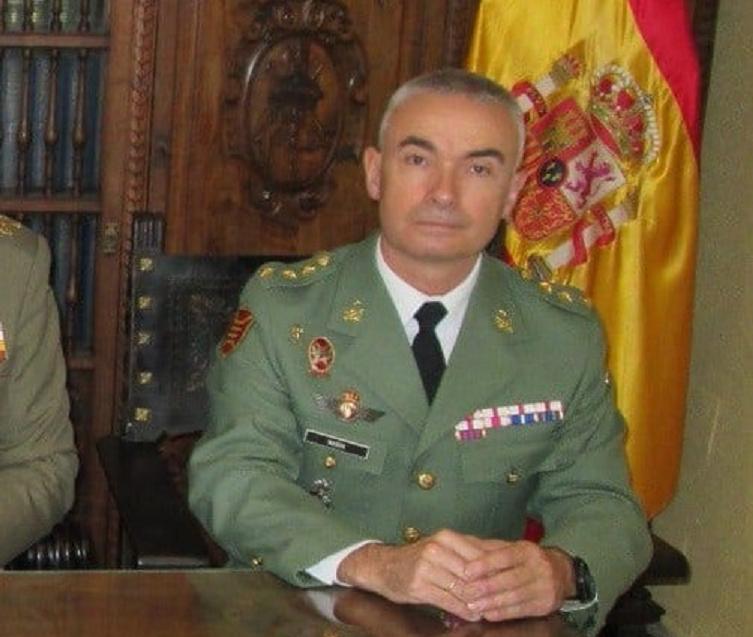 El General de Brigada Melchor Marín Elvira releva a Marcos Llago como nuevo Jefe de la Legión, que pasa destinado al Cuartel General de Alta Disponibilidad de la OTAN en Valencia