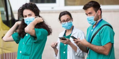 CSIF pide que el personal de gestión y servicios del Sistema Sanitario Público sea considerado de riesgo y se le dote de equipos de seguridad adecuados